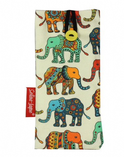 Selina-Jayne Elephants Limited Edition Designer Soft Glasses Case